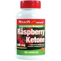 Mason Natural Diet Supplements, Raspberry Ketone, 200 Mg, 60 Count