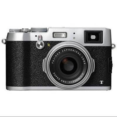 Fujifilm - X100t 16.3-megapixel Digital Camera - Silver