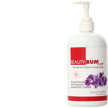 Beauty Fit Bum Pump Toning Lotion, Sweet Pea, 16 Ounce