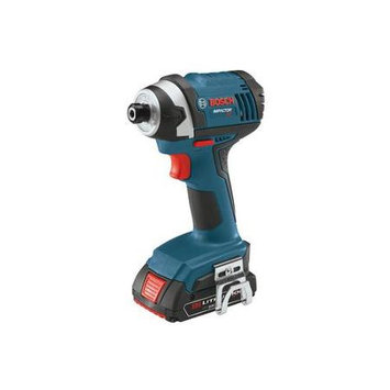 Bosch IDS181-102 18V Cordless Lithium-Ion 1/4 in. Hex Impact Driver Kit