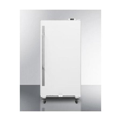 Summit SCUR18 Commercial 17.7 Cu. Ft. White Freezerless Refrigerator
