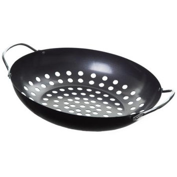 GRILLMARK ROUND WOK WITH HOLES -Mfg# 98130A - Sold As 4 Units