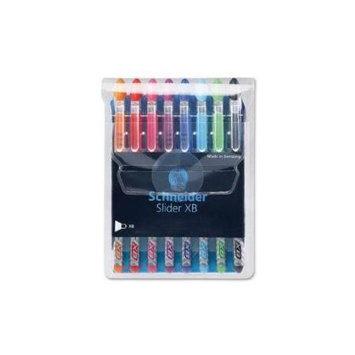 Stride, Inc. Slider XB ViscoGlide Ballpoint Pen Assorted Ink - 8 / Pack