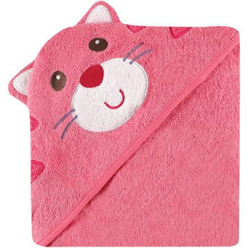 Baby Vision Luvable Friends Animal Face Hooded Terry Towel - Cat