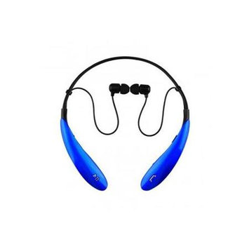 IQ Sound - Bluetooth Wireless Headphones and Mic - Blue