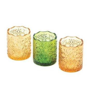 Koehlerhomedecor Home Locomotion Lemon Lime And Orange Colored Candle Cups
