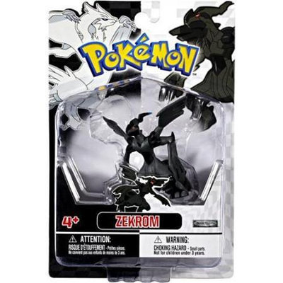 Pokemon FIGURE SINGLE ZEKROM - JUSTIN PRODUCTS INC.