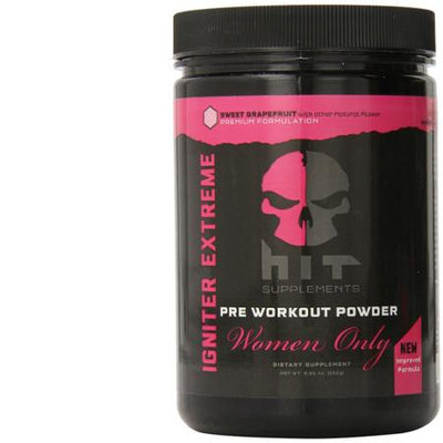 HIT Supplements Igniter Extreme Pre Workout Supplement for Women Grapefruit 282g