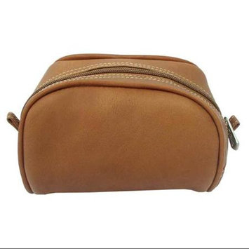 Piel Inc Women's Piel Leather Cosmetic Bag 2405 Saddle Leather