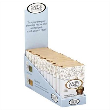 South Of France 18 oz. Shea Butter Travel Bar Soap 12 Pack - Case Of 1