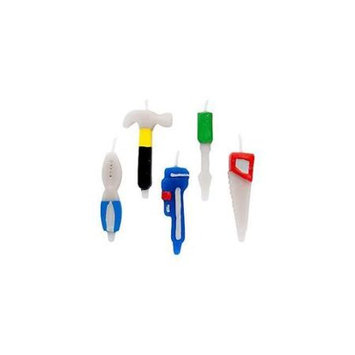 Birthday In A Box Wilton BB012261 Tool Candles - 5-Pack