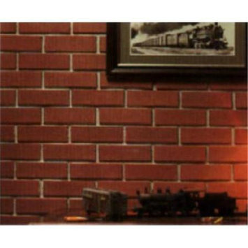 Z-Brick #ZC002205 CTN 20 RED Brick Facing