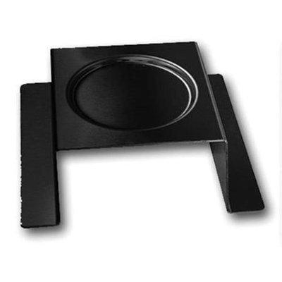 Rosseto Serving Solutions SM170 Steel Square Burner Stand Black Matte Finish