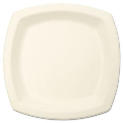 SOLO Cup Company Bare Eco-Forward Dinnerware, 8 1/4 Plate, Ivory, 125/Pack