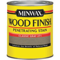 Minwax 70048 Wood Finish, Classic Gray Stain ~ Quart