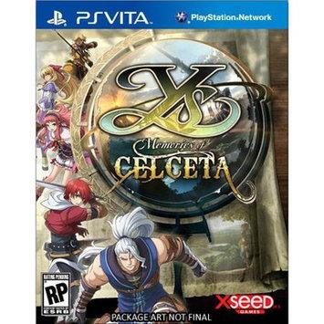 Xseed Gaming Ys: Memories of Celceta PS Vita Games