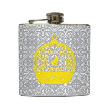 Free Bird - Liquid Courage Flasks - 6 oz. Stainless Steel Flask