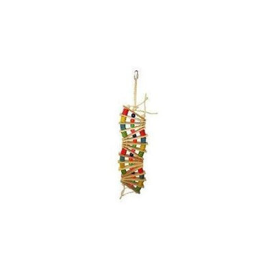 A & E Cage Co Hanging Ladder Bird Toy