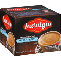 Indulgio Coffee & Espresso French Vanilla Cappuccino (42 Single Serve Cups per Case) FG014222