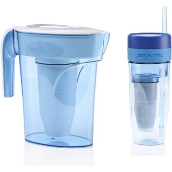 ZeroWater Filtered Water Pitcher & Tumbler (ZB-626)