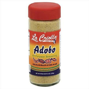 La Criolla 8 oz. Adobo All Purpose Seasoning Case Of 12