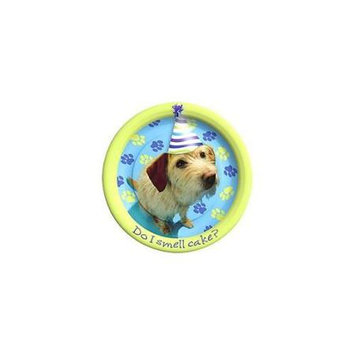 Birthday In A Box Puppy Party Cake Plates (8-pack)