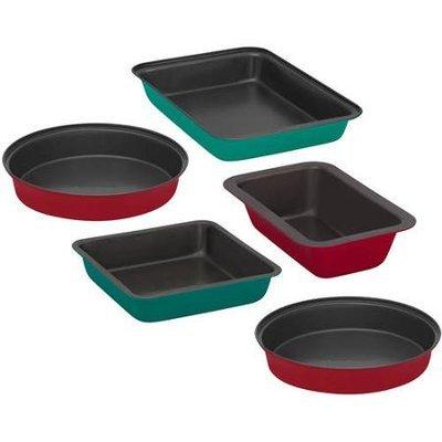 World Kitchen Llc Baker's Secret Color Metal Bakeware 5-piece Set