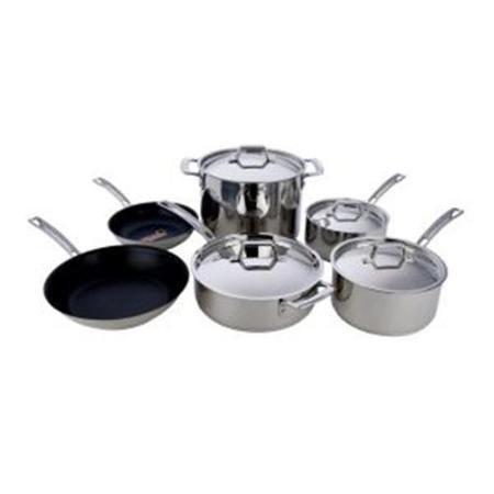 MIU France 95075-10Piece Copper Core Cookware Set