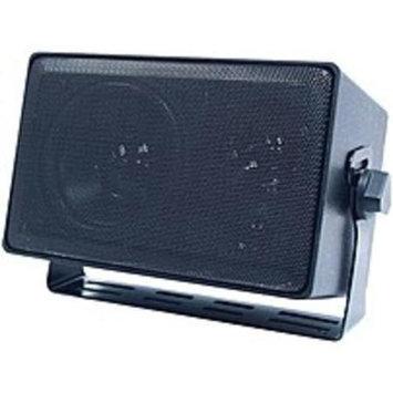 Speco Technologies DMS-3TS 4-inch 3-Way Indoor/Outdoor Multi-TAP Speaker - 8 Ohms - 70 V - Black