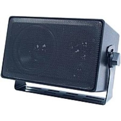Speco Technologies DMS-3TS 4-inch 3-Way Indoor/Outdoor Multi-TAP Speaker - 8 Ohms - 70 V - Black