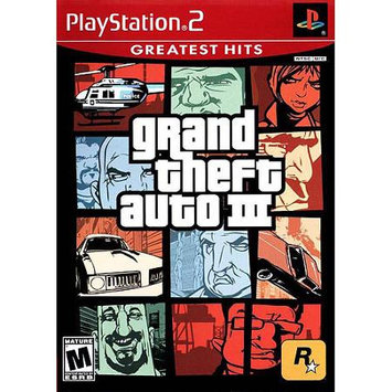 Rockstar Games 710425270796 Grand Theft Auto 3 Greatest Hits for PlayStation 2