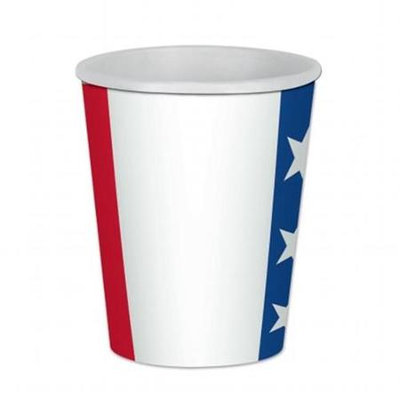 Beistle Company 58229 Patriotic Beverage Cups