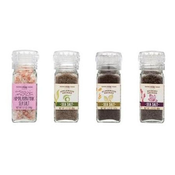 Pepper Creek Farms 601H-GR4 Hickory Smoked Salt With Grinder - Pack of 6