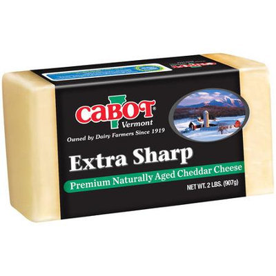Cabot Vermont Naturally Aged Extra Sharp Cheddar Cheese