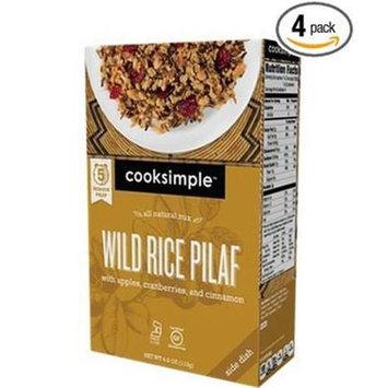 Cooksimple 4 oz. Wild Rice Pilaf Case Of 6