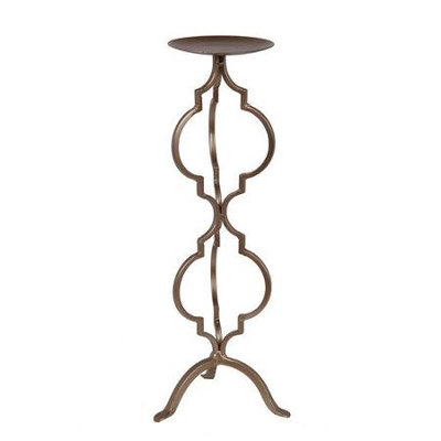 Privilege Iron Large Candle Holder