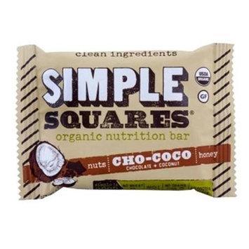 Simple Squares - Organic Gluten-Free Nuts & Honey Nutrition Bar Cho-Coco - 1.7 oz.
