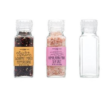 Pepper Creek Farms 601B Himalayan Pink Salt Large With Grinder - Pack of 6