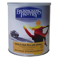 Backpackers Pantry Backpacker's Pantry Santa Fe Rice with Chicken