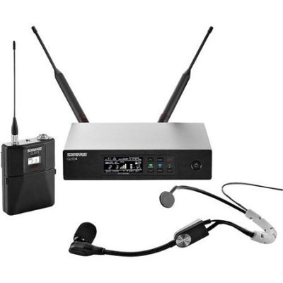 Shure QLX14D35 Digital Wireless SM35 Headworn Microphone System, J50 Band
