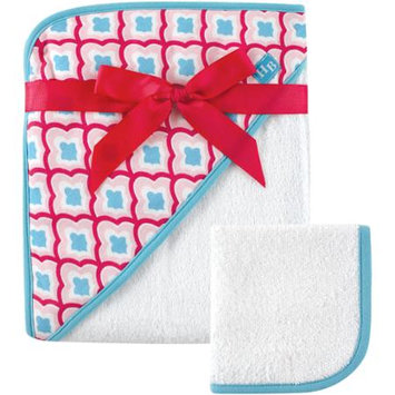 Baby Vision Hudson Baby Sweet Water Hooded Towel & Washcloth