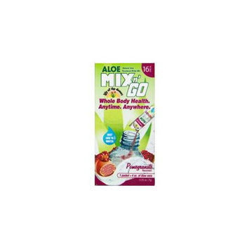 Lily Of The Desert - Mix n' Go Aloe Powdered Drink Mix Pomegranate Flavored - 16 Packets