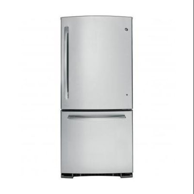 GE 20.3 cu. ft. Bottom Freezer Refrigerator in Stainless Steel GBE20ESESS