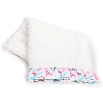 Pam Grace Creations Llc Pam Grace Creations Posh in Paris Chenille Baby Blanket