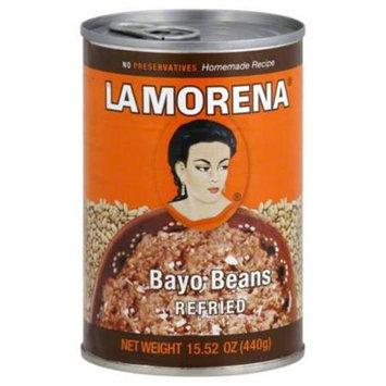 La Morena Bayo Beans 15.52oz Pack of 12
