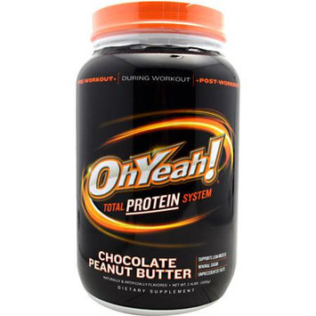 ISS Research OhYeah! Total Protein System Chocolate Peanut Butter 2.4 lbs