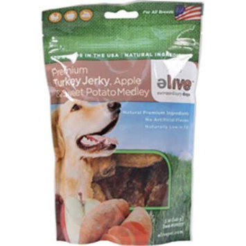 ELIVE Premium Turkey Jerky With Apple And Sweet Potato