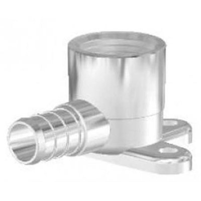 Zurn 134950 Brass Tee Adapter 1 In. Barb X 1 In. Barb Xx .5 In. Fpt