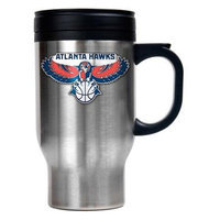 Great American Products New Orleans Hornets NBA Stainless Steel Travel Mug Primary Logo