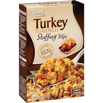 Great Value: Turkey Flavored Stuffing Mix, 6 oz